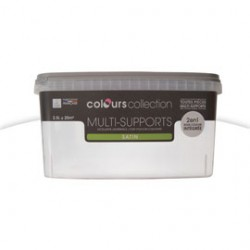 PEINTURE COLOURS COLLECTION MULTI SUPPORTS BLANC